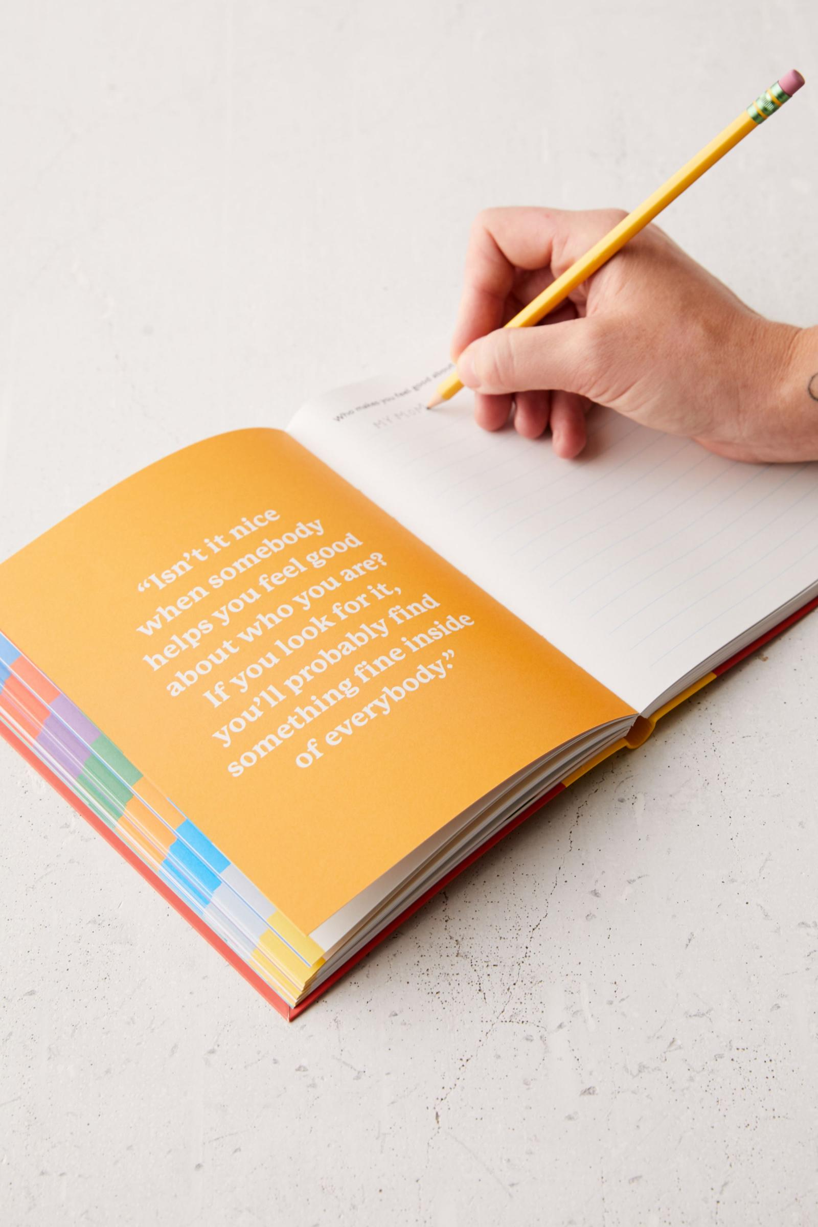 Mister Rogers Neighborhood My Neighborhood Activity Journal By Fred Rogers Productions Urban Outfitters Singapore